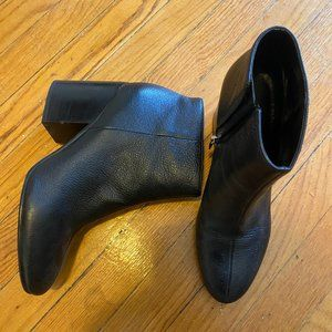 Chunky Heel Ankle Boot - Marc Fisher